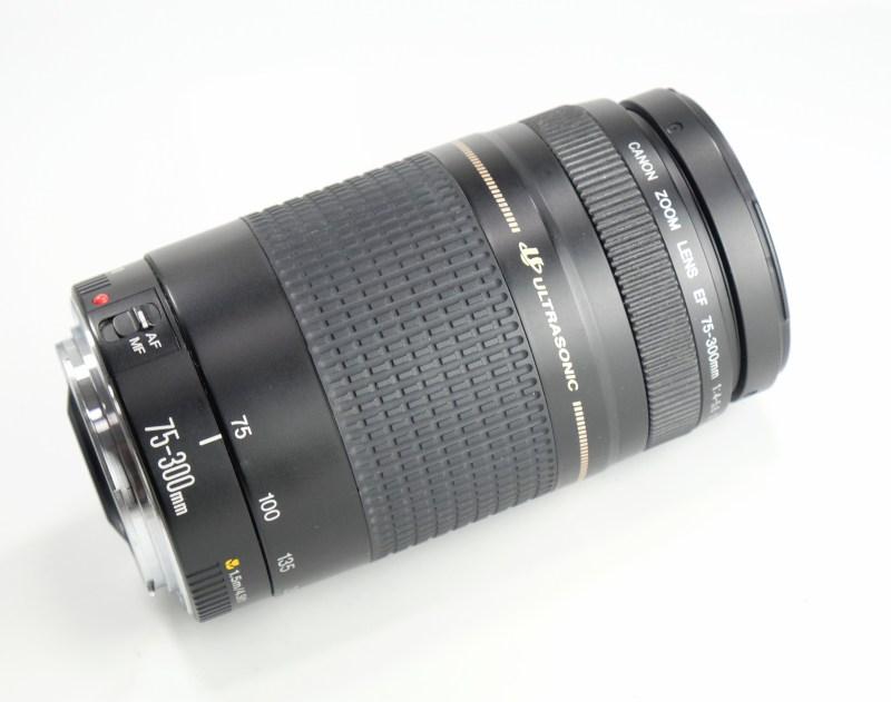 Canon 75-300mm EF f/4-5,6 II USM