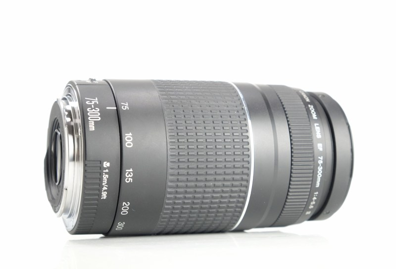 Canon 75-300mm EF f/4-5,6 III TOP STAV