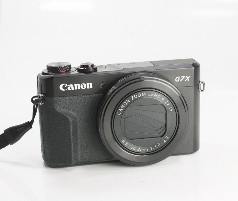 CANON PowerShot G7 X Mark II TOP STAV