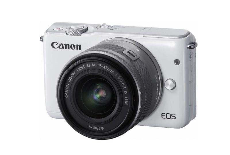 CANON EOS M10 + 15-45 mm STM bílý AKCE