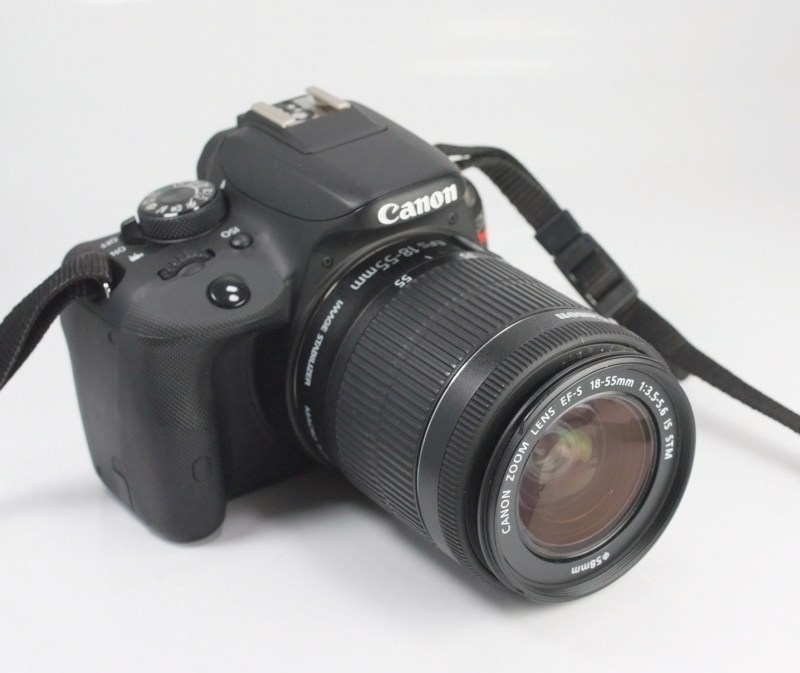 Canon 100D (Rebel SL1) + Canon 18-55mm IS STM