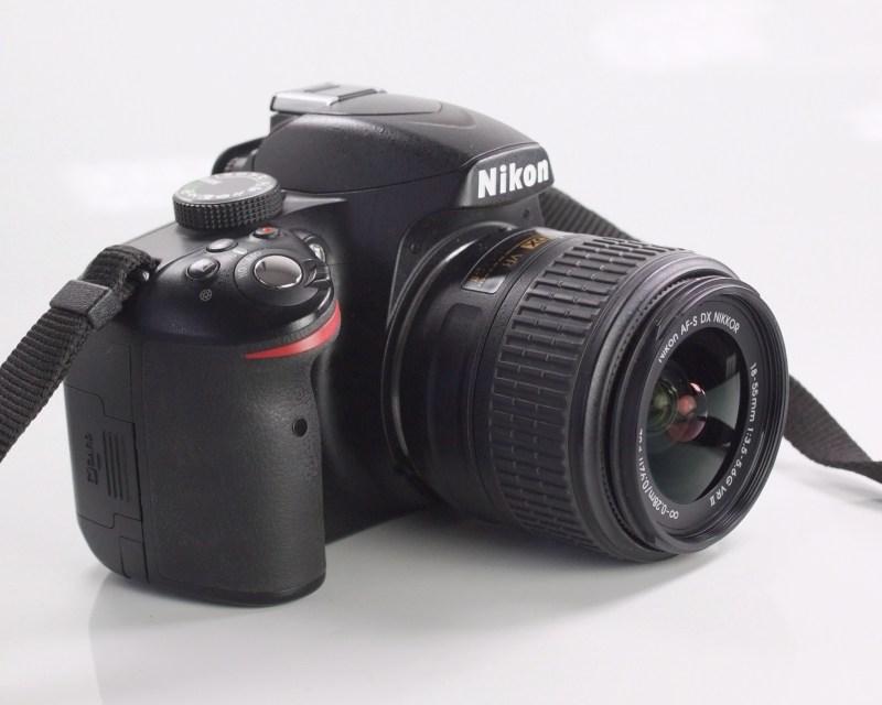 NIKON D3200  + 18-55 mm  VR II SUPER STAV