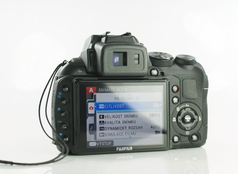 Fujifilm FinePix HS30 EXR SUPER STAV