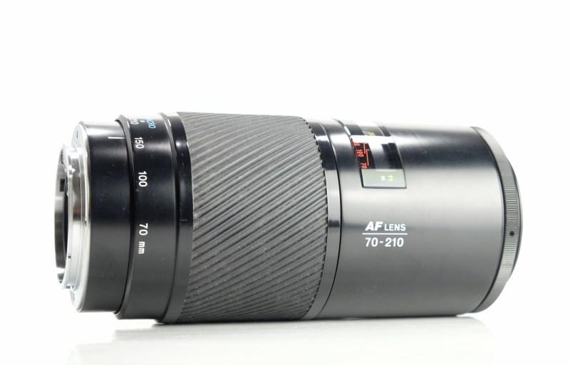 Minolta AF 70-210mm F4  Beercan