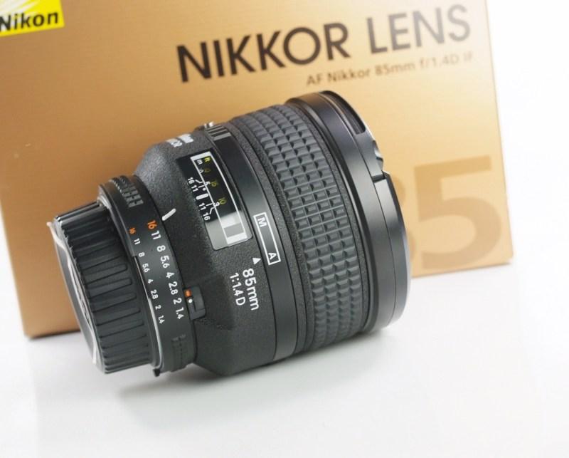 NIKON 85 mm f/1,4 D IF AF TOP