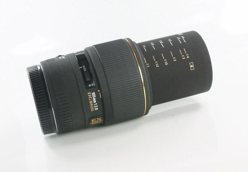 SIGMA 105/2,8 EX DG Macro pro Canon TOP