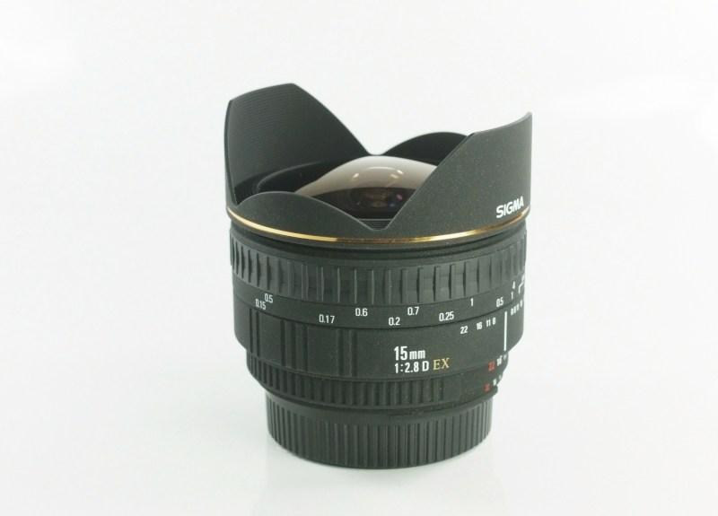 SIGMA 15 mm f/2,8 EX D Fisheye pro Nikon