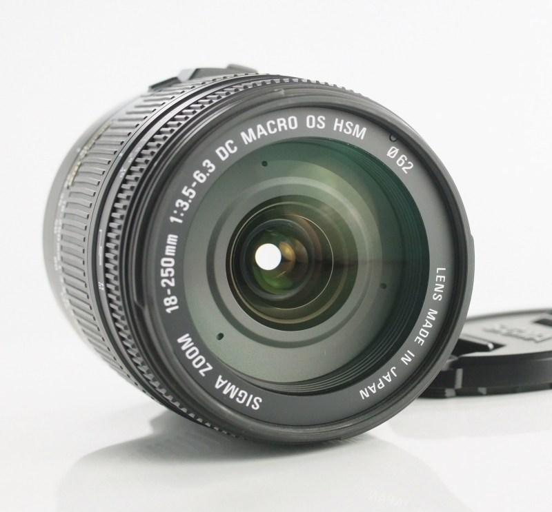 SIGMA 18-250 mm f/3,5-6,3 DC OS HSM pro Canon