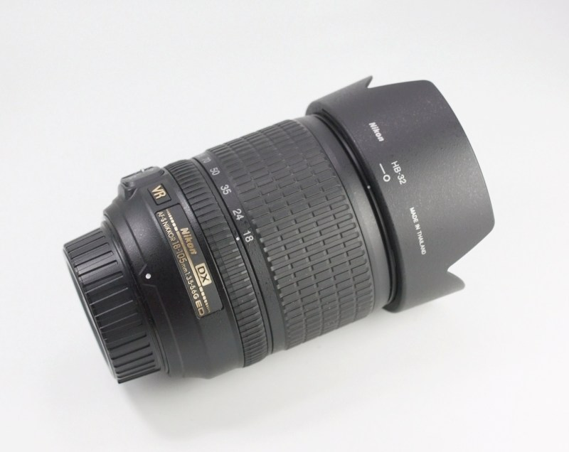 Nikkor 18-105mm f/3.5-5.6G VR TOP STAV