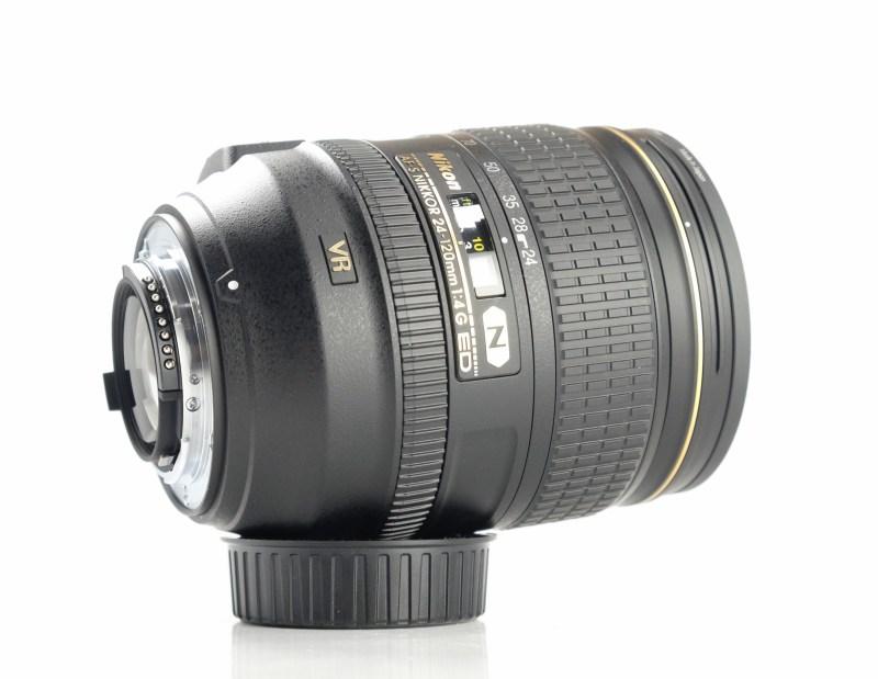 NIKON 24-120 mm f/4 G ED VR AF-S TOP záruka 9/2021