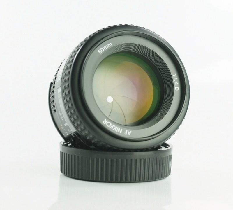 NIKON 50 mm f/1,4 D AF SUPER STAV
