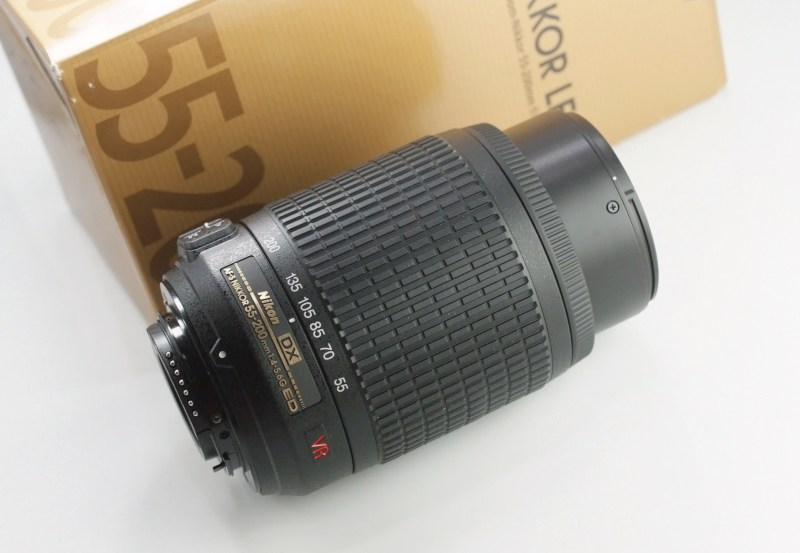 Nikon 55-200mm f/4-5.6G AFS VR TOP STAV