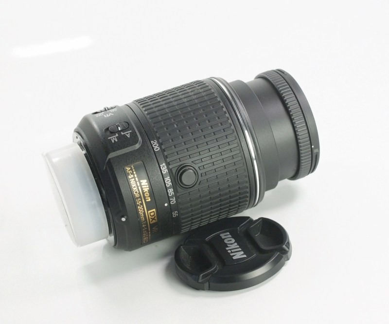 Nikon 55-200mm f/4-5.6G AFS VR II  TOP STAV