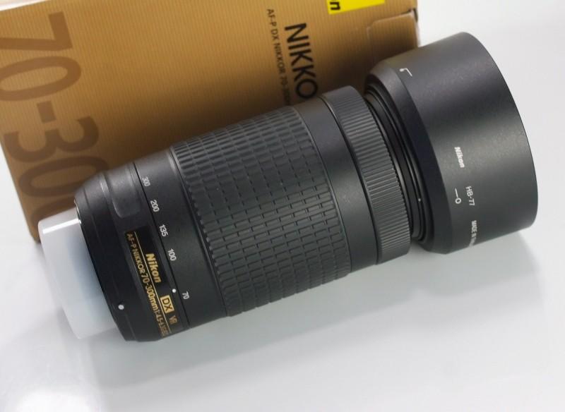 NIKON 70-300 mm f/4,5-6,3 G AF-P DX ED VR TOP STAV záruka 5/2020