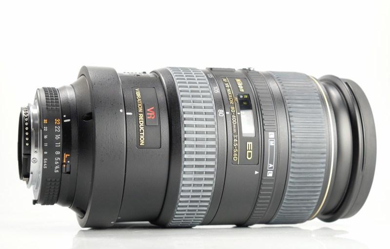 Nikon 80-400mm f/4,5-5,6 D VR