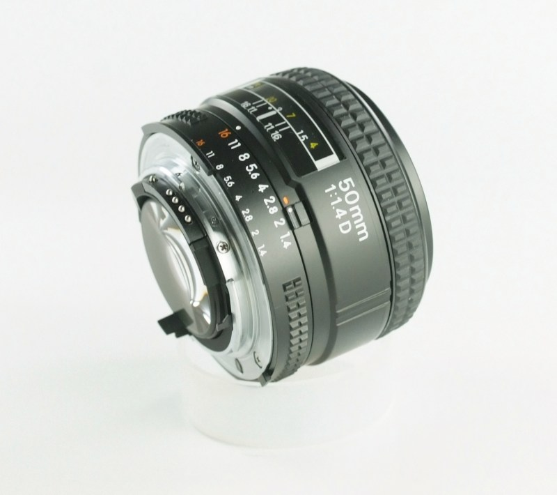 NIKON 50 mm f/1,4 D AF TOP STAV