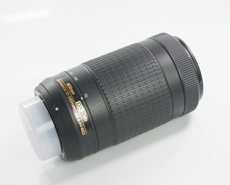 NIKON 70-300 mm f/4,5-6,3 G AF-P DX ED VR TOP STAV