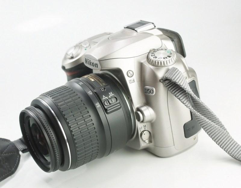 Nikon D5000 + 18-55mm SUPER STAV