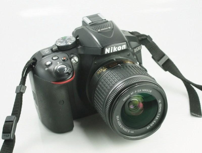 Nikon D5300 + 18-50mm VR  TOP STAV