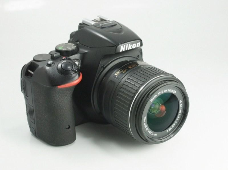 Nikon D5500 + Nikon 18-55mm VR