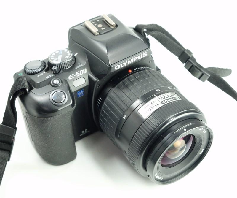 Olympus E-system E-500 + 14-45mm