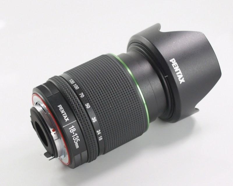 PENTAX 18-135 mm f/3,5-5,6 DA ED AL IF DC WR TOP