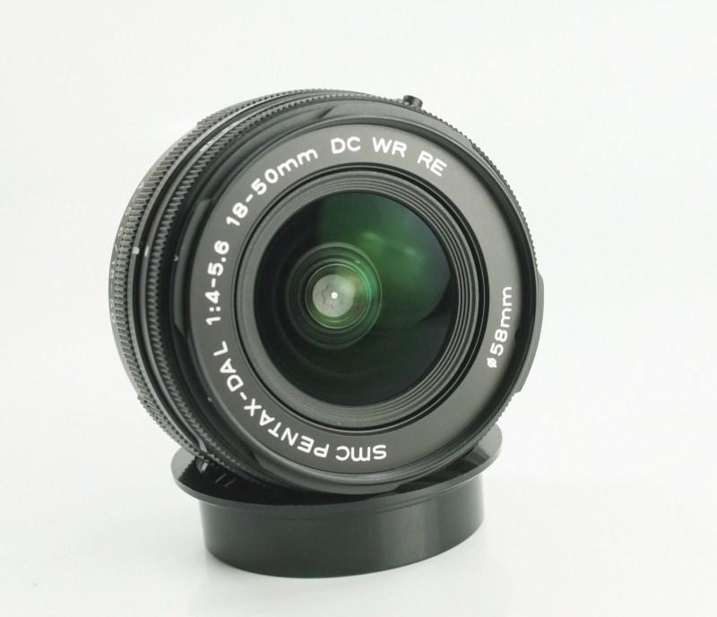 PENTAX 18-50 mm f/4-5,6 WR RE