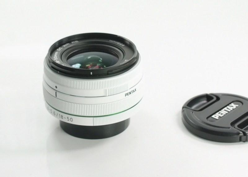 PENTAX 18-50 mm f/4-5,6 WR RE TOP STAV