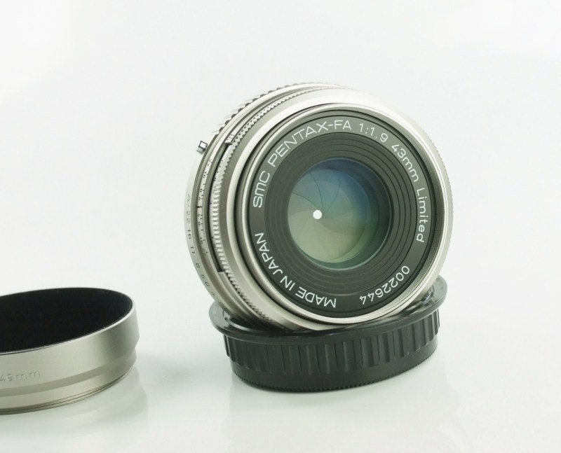 PENTAX 43 mm f/1,9 FA Limited TOP STAV