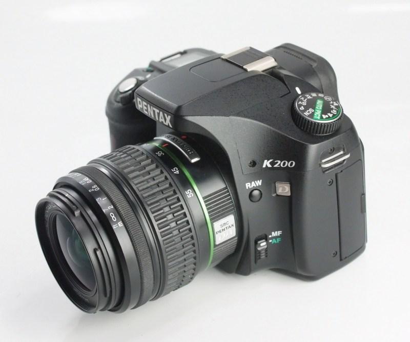 Pentax K200d+ 18-55 mm SUPER STAV