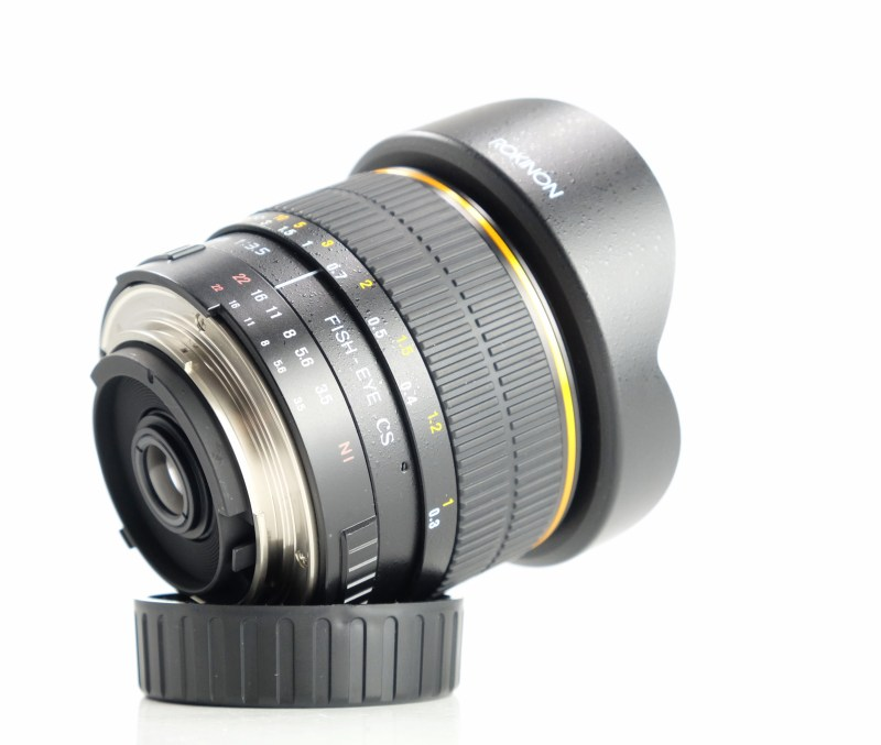 Samyang Rokinon 8mm f/3,5 pro Nikon