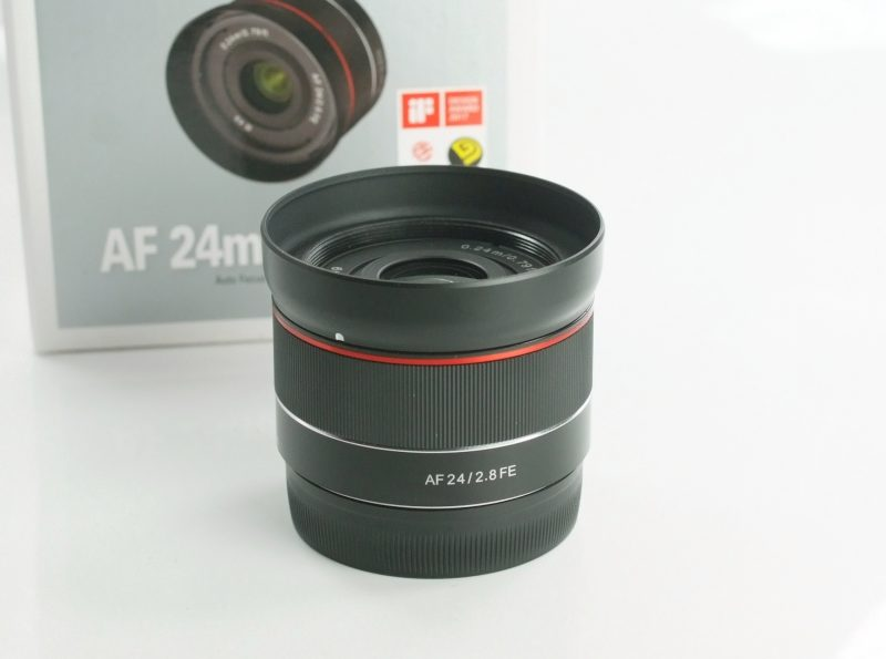 SAMYANG 24 mm f/2,8 AF FE pro Sony E záruka 11/2020