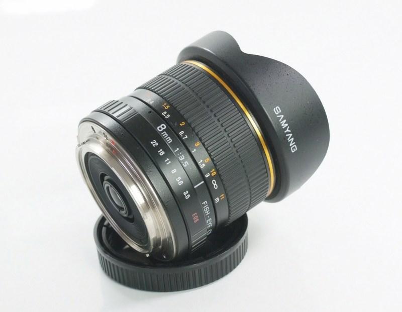 Samyang 8mm f/3,5 pro Canon