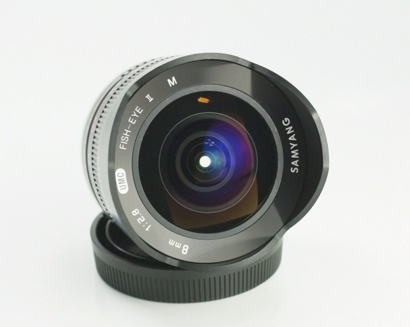 Samyang 8mm f/2,8 UMC Fish-eye II Canon M
