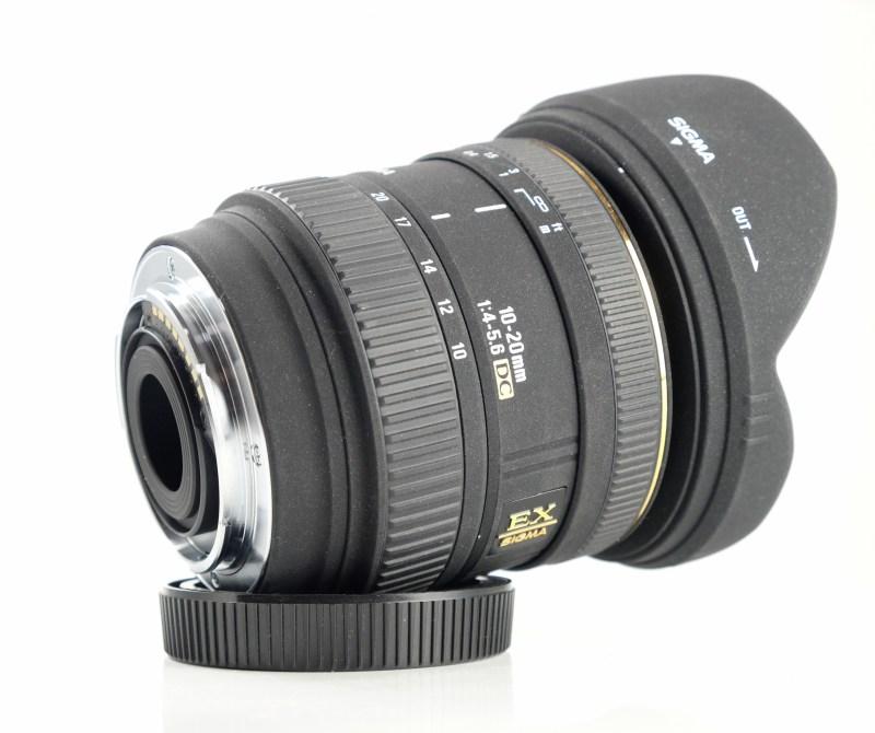 Sigma 10-20/4-5.6 EX DC pro SONY