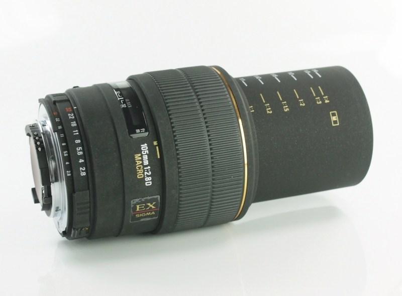 SIGMA 105/2,8 EX D Macro pro Nikon
