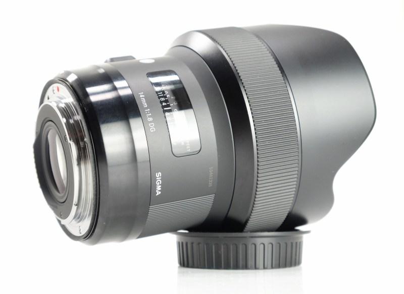 SIGMA 14 mm f/1,8 DG HSM Art pro Canon EF