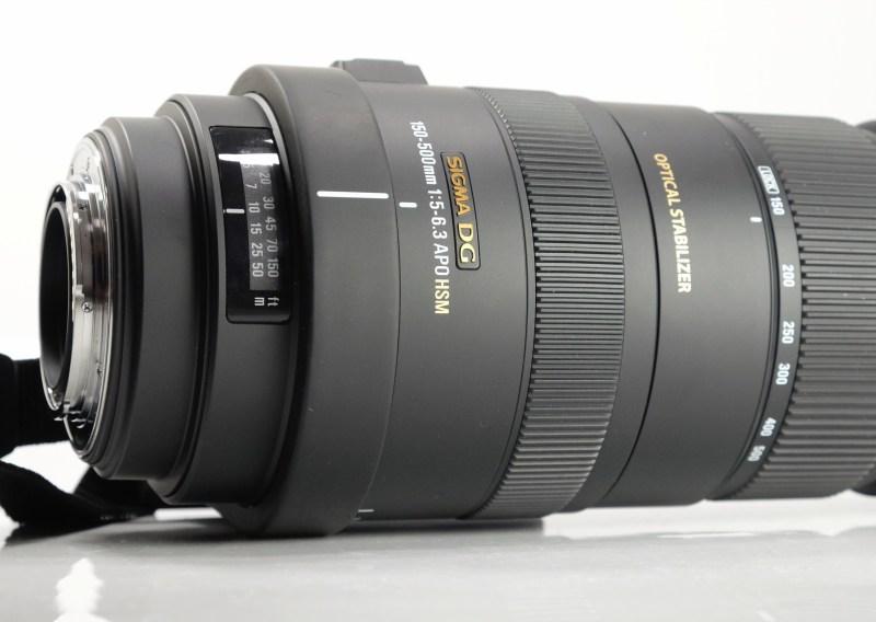 SIGMA 150-500 mm f/5-6,3 APO DG OS HSM pro Sony A