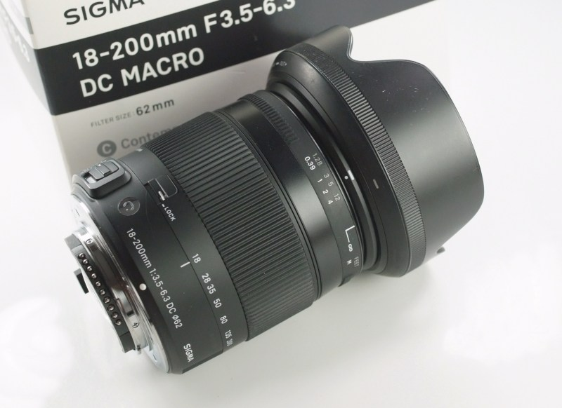 SIGMA 17-70 mm f/2,8-4 DC HSM Contemporary pro NIKON