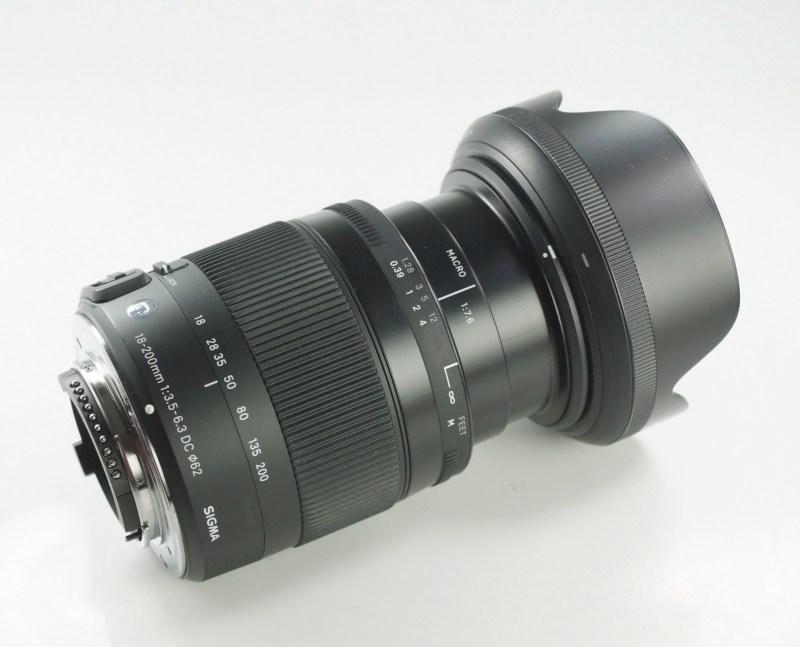 SIGMA 18-200mm f/3.5-6.3 DC MACRO OS HSM Contemporary  pro NIKON
