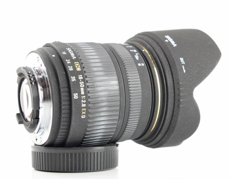 SIGMA 18-50 mm f/2,8 EX DC pro Nikon