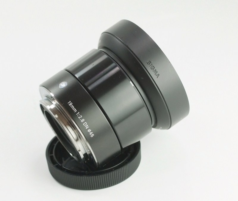 SIGMA 19 mm f/2,8 DN Art  pro Sony E