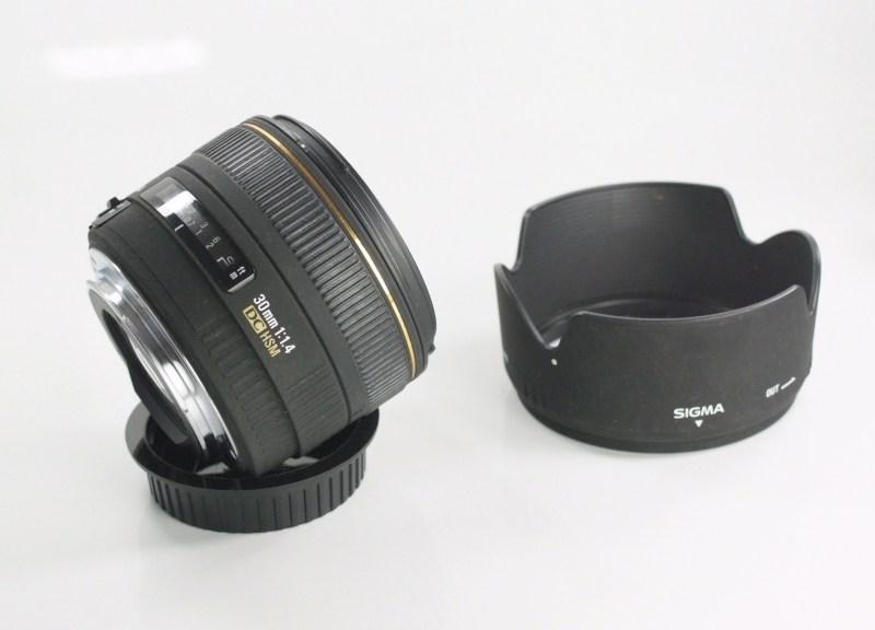 SIGMA 30 mm f/1,4 DC HSM pro Canon