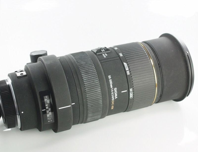 Sigma 50-500 mm F 4,0-6,3 APO EX HSM pro Olympus