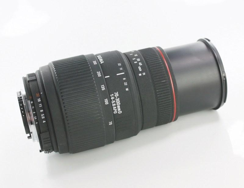 Sigma 70-300/4-5.6 APO  MACRO pro NIKON