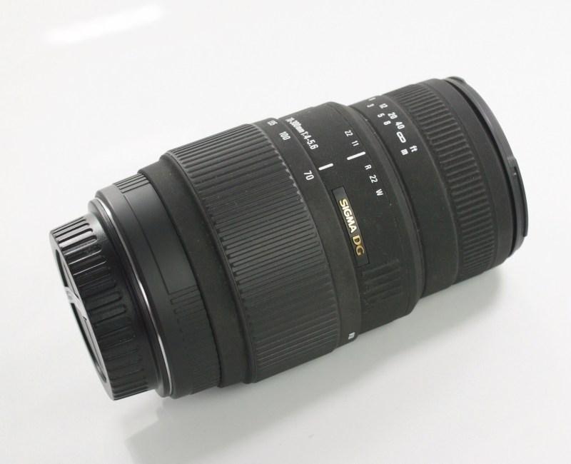 Sigma 70-300/4-5.6  DG MACRO pro Canon