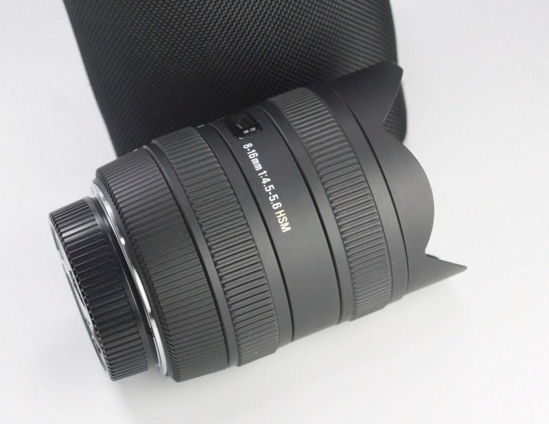 SIGMA 8-16 mm f/4,5-5,6 DC HSM pro Nikon TOP STAV