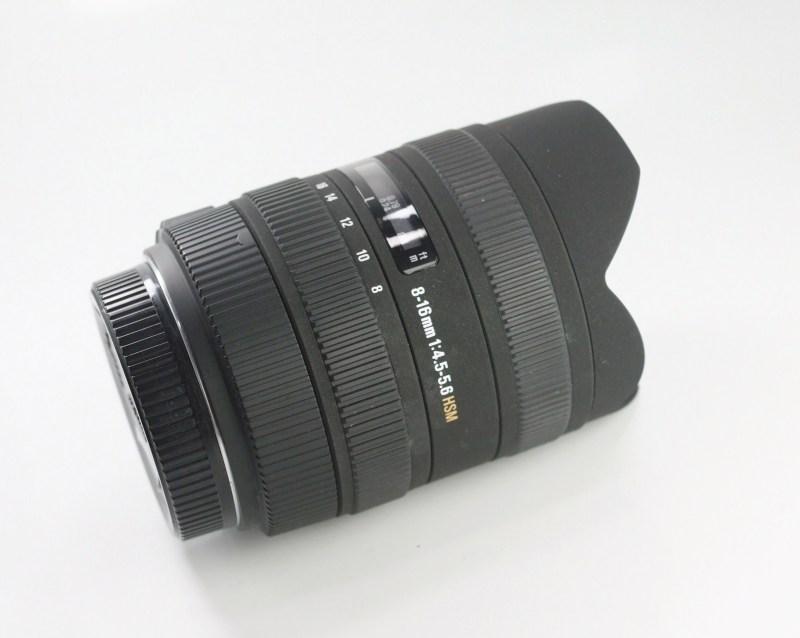 SIGMA 8-16 mm f/4,5-5,6 DC HSM pro SONY