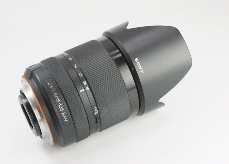 SONY 18-135 mm f/3,5-5,6 pro bajonet A