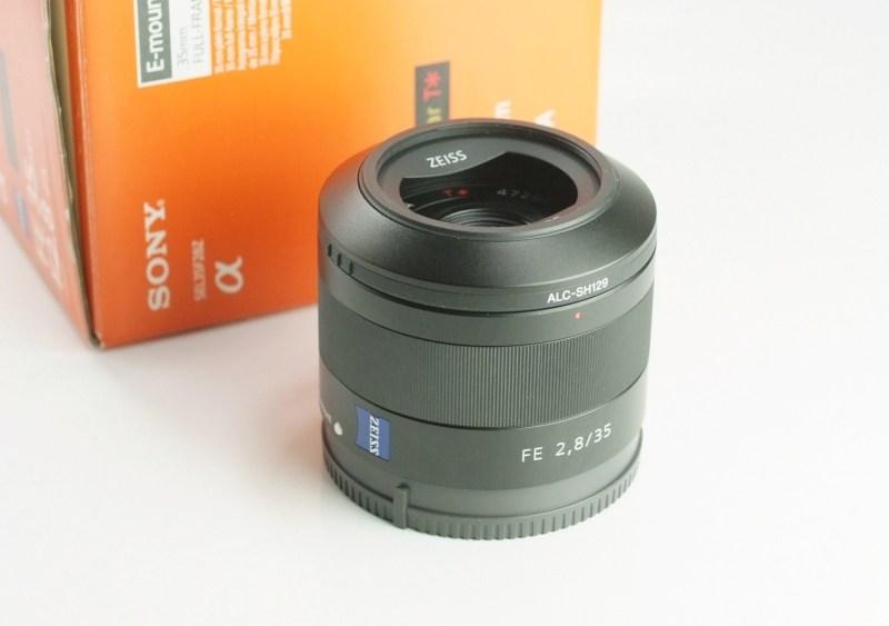 SONY FE 35 mm f/2,8 ZA Sonnar T pro bajonet E TOP
